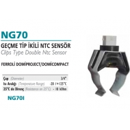 Ferroli  Kecmə tip ikili NTC sensor- NG70