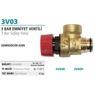 Demir Döküm 3 Bar təhlkəsizlik ventili - 3V03