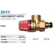 Ferolli 3 Bar Təhlükəsizlik Ventili -  3V11