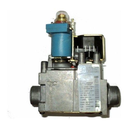 Kombi Hissələri GAZ VALFI SIT SIGMA 845 220V MAVI BOBIN